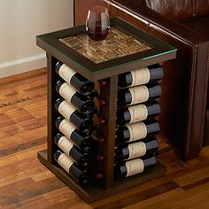 French Oak Barrel Cocktail Table Dark Finish At Wine