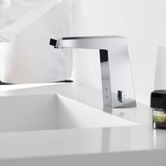 #Touchless #electronic #faucet Hansa Loft