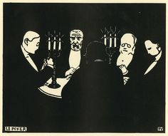 Felix Vallotton woodcut
