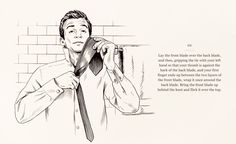 How to nail a tie dimple | THE KNACK | The Journal | MR PORTER