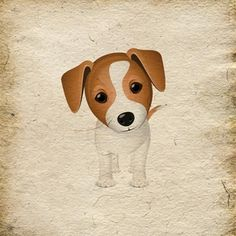 Jack Russell's are the best dogs ever. Looks just like a painting of Rocko's face, markings and all