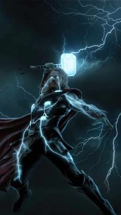 Thunder Thor iPhone Wallpaper - iPhone Wallpapers