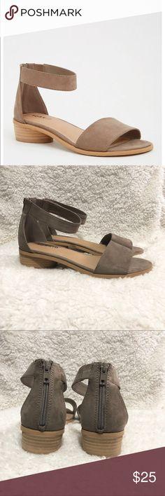 Torrid Mini Heels Sandals THESE ARE WIDE WIDTH! torrid Shoes Sandals