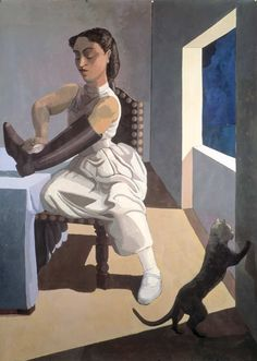 Paula Rego...The Policeman's Daughter