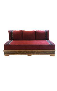 Custom Moroccan Three Seater Sofa