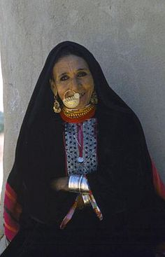 Africa | Bedouin woman, Bahariya Oasis, Western Desert, Egypt | © Eye Ubiquitous