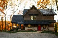 StoneMill - Residential Log Home Photo Gallery