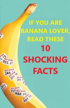 Banana is one of the healthiest fruits on the planet. For one thing, this tropical fruit is a real storehouse of minerals and vitamins, which boost your health on many different levels. Read these 10 shocking facts about bananas! Food healthy | Banana nutrition | Bananas | Banana health benefits | Nutritional value of banana #banananutrition #bananas #foodhealthy