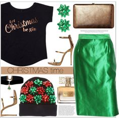 How To Wear Getting in the Christmas mood Outfit Idea 2017 - Fashion Trends Ready To Wear For Plus Size, Curvy Women Over 20, 30, 40, 50