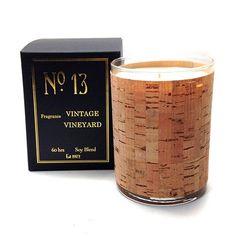 Wood Candle No. 13 Vintage Vineyard