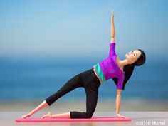 Start your new week off strong and centered with an early morning stretch. Barbie, May 2016