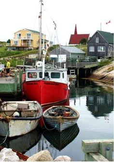 Peggy's Cove - Nova Scotia's most beautiful fishing village O Canada, Canada Travel, Travel Usa, Nova Scotia, Places To Travel, Places To Go, Atlantic Canada, Prince Edward Island, New Brunswick
