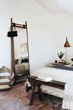 #DiscountVinylFlooring Unique Home Decor, Cheap Home Decor, Diy Home Decor, Decor Crafts, Discount Vinyl Flooring, Walnut Mirror, Bohemian Bedroom Decor, Bohemian Furniture, Small House Decorating
