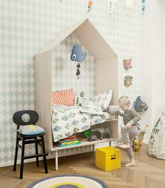 Home is Where the House Is: House-Shaped Kids' Decor | Apartment Therapy