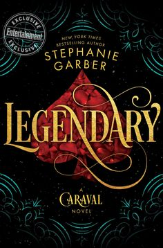 It's the cover and title for the Caraval sequel--Legendary!!