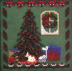 Mill Hill Buttons Beads #crossstitch  CHRISTMAS EVE #needlecraft #DIY #giftideas #decor