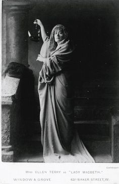 Ellen Terry as 'Lady Macbeth', 1888