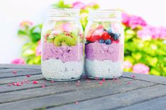 I made this chia pudding for the first time last week and I think my smoothie bowls will have some serious competition in the future, because this might be my new favorite breakfast! There are so many pros to these chia puddings; they taste great, they are healthy (see my post on chia seeds a....