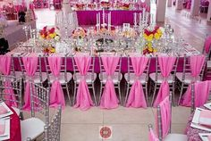 Pink wedding reception inspiration from @2706events at #thehalims2015  #weddings #weddinginspiration #idonigeria