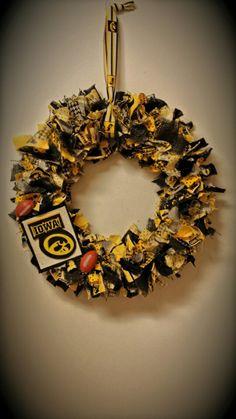 Hawkeye wreath #1