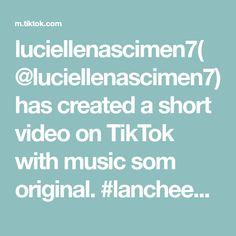 luciellenascimen7(@luciellenascimen7) has created a short video on TikTok with music som original. #lancheemcasa The Originals, Create, Music, Recipes, Musica, Musik, Muziek, Music Activities, Songs