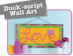 Duct Tape Your Heart Out - With today's colorful duct tape and the fun projects in this book, you can craft to your heart's content! Dress up school stuff and rain gear, make hip headphones and a purse or wallet, give new life to old shoes, bend covered coax cable into wall art words, and create unique jewelry to share with friends. The ideas found in Duct Tape Your Heart Out are irresistible! Step-by-step photos and clear instructions make it all super easy. Additional projects include…