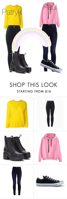"""""""Paul and Patryk"""" by starsgoblue12 on Polyvore featuring Roseanna and Converse"""