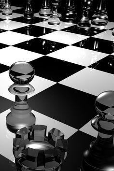 Wallpaper Chess Pieces Macro