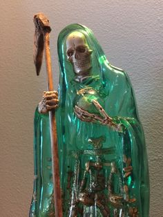 I dreamt of La Santa Muerte again last night, the second time this week (the first being Monday night). It's pretty obvious to me that She's keen on my devotion to Her and these dreams are cosmic g...