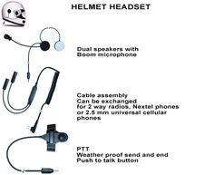 motocycle helmet headset