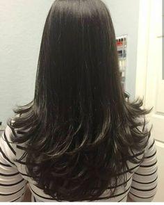Long Layered Haircuts, Haircuts For Long Hair, Long Hair Cuts, Hairstyles Haircuts, Party Hairstyles, Wedding Hairstyles, Medium Hair Styles, Natural Hair Styles, Short Hair Styles