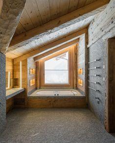 Natursteinbad Mit Viel Holz Und Stein. Stone Group AG · Naturstein  Badezimmer