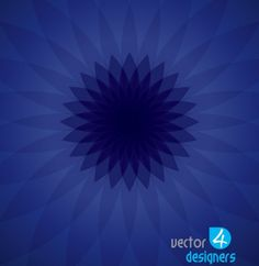 Blue Flower Burst Abstract Vector Background - http://www.dawnbrushes.com/blue-flower-burst-abstract-vector-background/