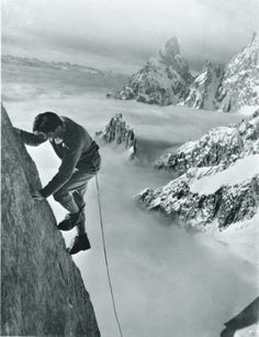 Climber Walter Bonatti