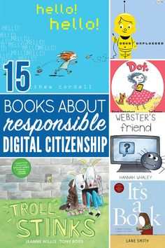 Citizenship Activities, Digital Citizenship Lessons, Library Activities, Sequencing Activities, Toddler Books, Kid Books, Childrens Books, Elementary Library, Elementary Counseling