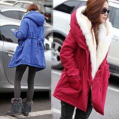 $26.00 (Buy here - https://alitems.com/g/1e8d114494b01f4c715516525dc3e8/?i=5&ulp=https%3A%2F%2Fwww.aliexpress.com%2Fitem%2F2016-new-autumn-Thick-Faux-fur-lining-women-s-winter-plush-liner-windbreaker-jacket-and-long%2F32740438448.html) 2016 new autumn Thick Faux fur lining women's winter plush liner windbreaker jacket and long sections Slim cotton coat plus size