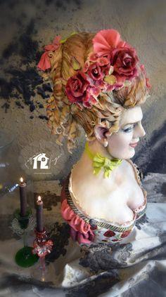 Lady Blossom Cake - Cake by Daniel Diéguez   CakesDecor.com