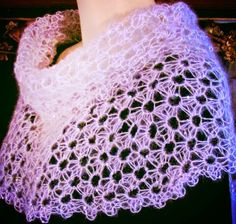Star Stitch #crochet cowl and capelet pattern for sale from @vashtirama