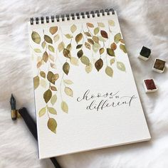 Need to work on my spacing 😂 happy Monday everyone! Watercolour Painting, Watercolor Flowers, Painting & Drawing, Watercolor Ideas, Journal Ideas, Junk Journal, Bullet Journal, Frame Wreath, Watercolor Techniques