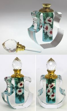 Decorative Glass/crystal Fast Deliver Art Deco Glass Perfume Bottle Circa 1930 Can Be Repeatedly Remolded. Periods & Styles