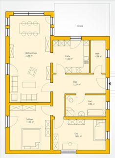 bungalow grundris pinterest grundrisse bungalow grundrisse und grundriss bungalow. Black Bedroom Furniture Sets. Home Design Ideas