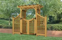 colonial style arbor
