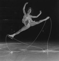 In 1940 photographer Gjon Milli attached lights to the boots of ice skaters and photographed their routines with a long shutter speed. Nine years later, while on assignment from Life Magazine to photograph Picasso, Milli showed him the ice skater photos. Picasso was so taken with idea that he immediately grabbed a light pen, and the two men created a series of their own.