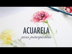 Today we will learn to draw, step by step, watercolor flowers. Acrylic Flowers, Watercolor Flowers, Watercolor Paintings, Learn To Paint, Learn To Draw, Step By Step Watercolor, Cute Doodles, Watercolour Tutorials, Vanitas