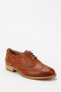 Women's Wanted Babe Brogue Oxford at Urban Outfitters.
