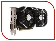 Видеокарта MSI GeForce GTX 1060 1544Mhz PCI-E 3.0 3072Mb 8008Mhz 192 bit DVI HDMI HDCP GTX 1060 3GT OC  — 13156 руб. —