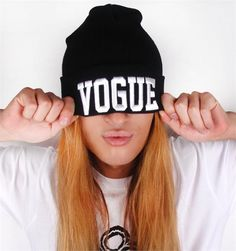 VOGUE BEANIE from Patricia Field