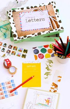 The Letter Box. Perfect way to get kids writing letters.