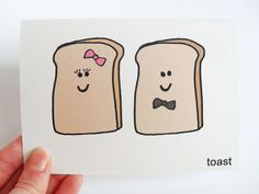 Funny Engagement Card - Wedding Card - Toast