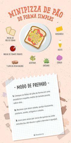 Recipes Smoothie Fruit 45 Ideas For 2019 Cute Food, Good Food, Yummy Food, Fruit Smoothies, Smoothie Recipes, Comida Diy, Mini Pizza, Quick Appetizers, Diy Food